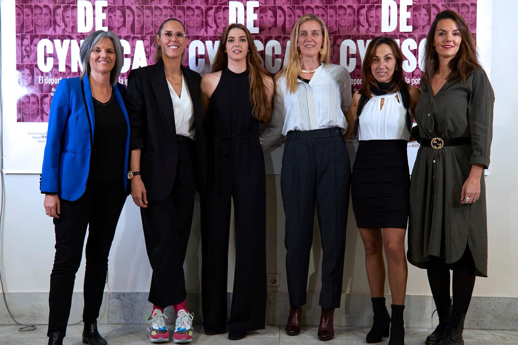 Laura Torvisco, Amaya Valdemoro, Mary Álvarez del Burgo, Paula Tirini, Dori Ruano y Bea Fernández