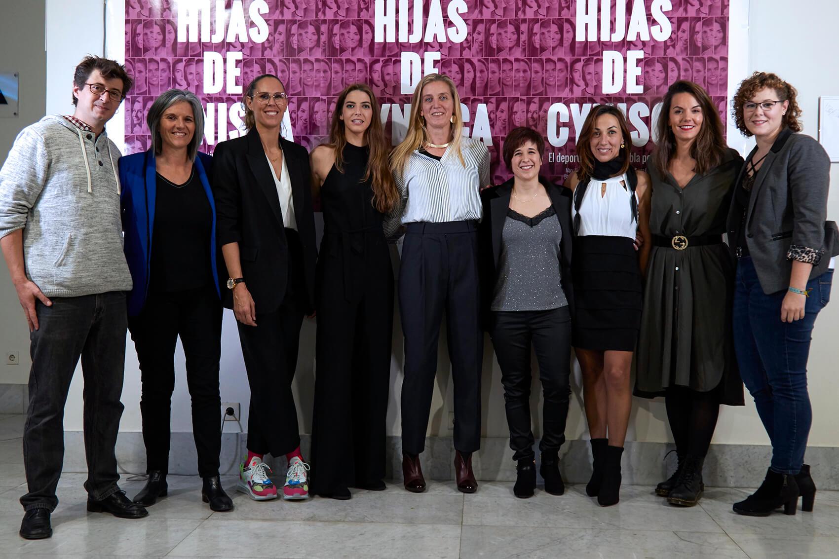 Eugenio Tardón, Laura Torvisco, Amaya Valdemoro, Mary Álvarez del Burgo, Paula Tirini, Beatriz Carretero, Dori Ruano, Bea Fernández y Beatriz Guerra
