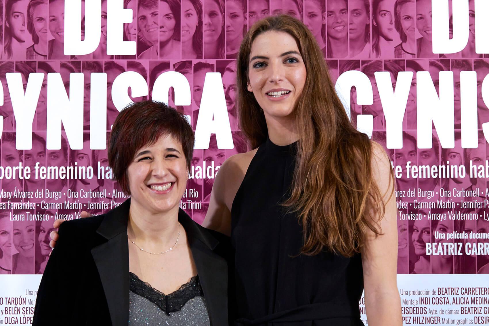 Beatriz Carretero y Mary Álvarez del Burgo