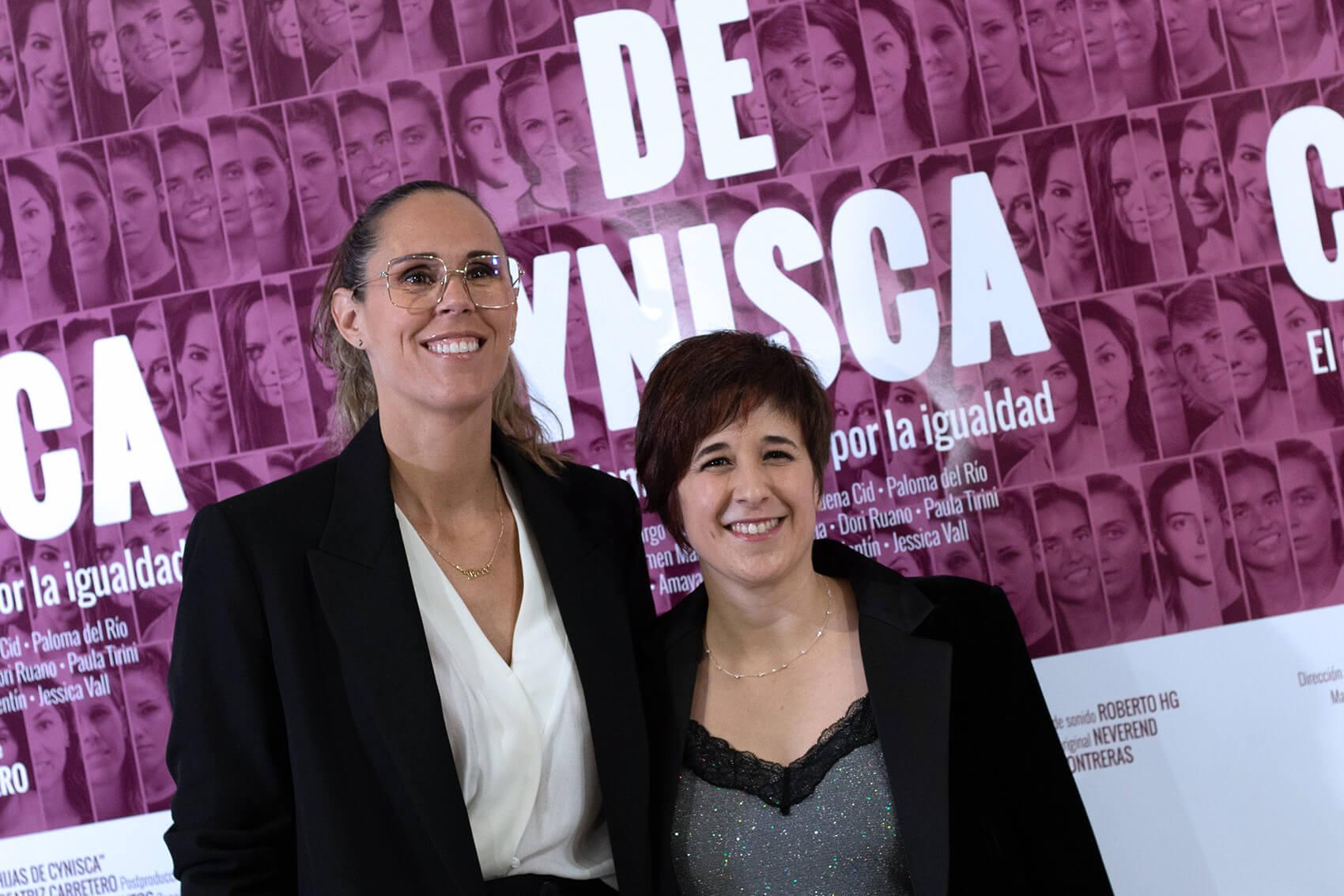 Amaya Valdemoro y Beatriz Carretero