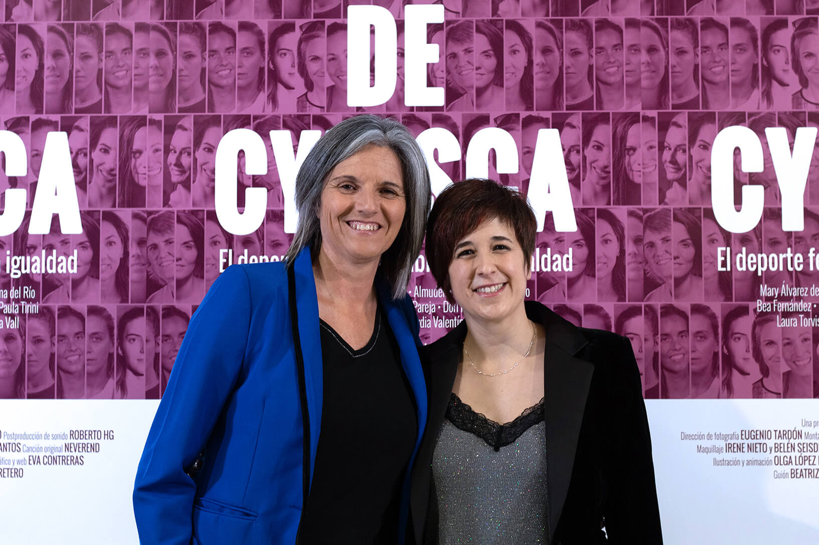 Laura Torvisco y Beatriz Carretero